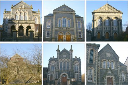 Llanidloes pics - churches